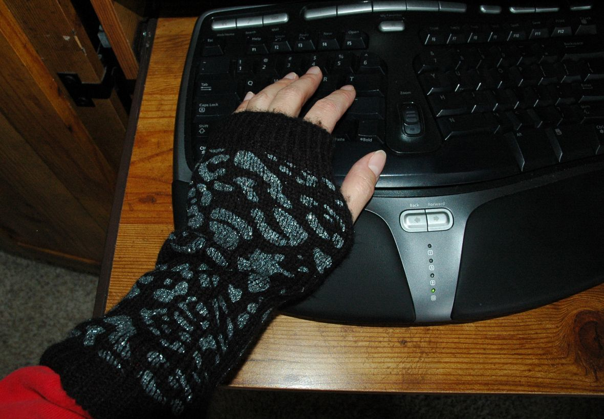 Hands Too Cold to Type? Try These