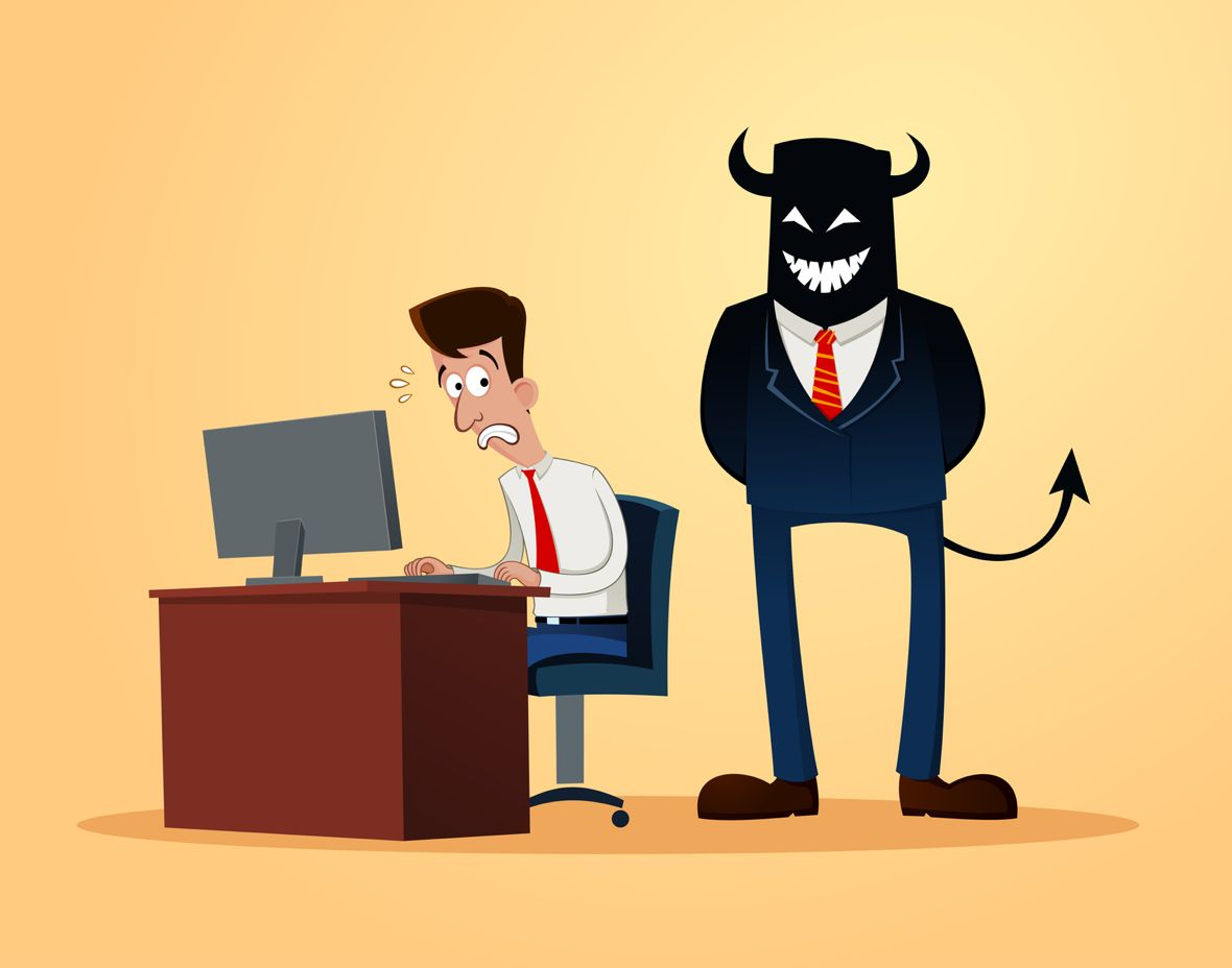 Defeat the Devil that Keeps You Chained to Your Desk