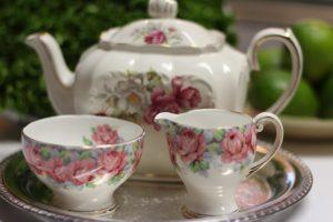 Tea Service Rose
