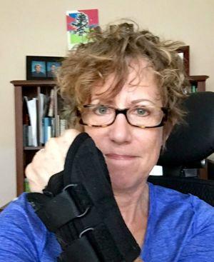 Linda wrist splint 2
