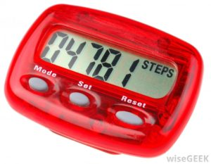 red-pedometer