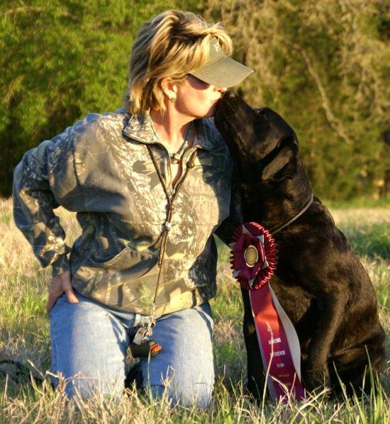 Susan & Pup