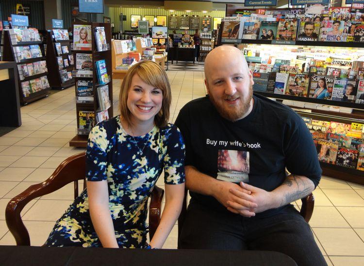 Lindsay and her husband, NAME.