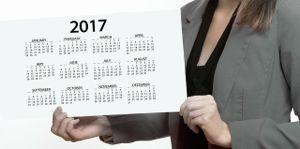 Calendar Woman 2017 Year 2