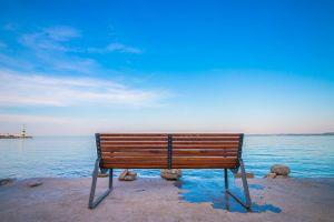 bench-ocean beach relax 2