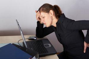 Back Pain Laptop